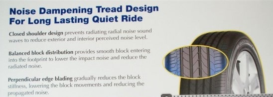 goodyear eagle efficientgrip noise dampening tread