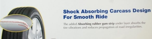 goodyear eagle efficientgrip shock absorbing