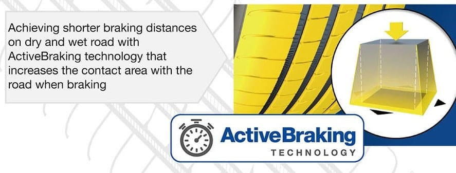 goodyear eagle f1 asymmetric 5 active braking technology