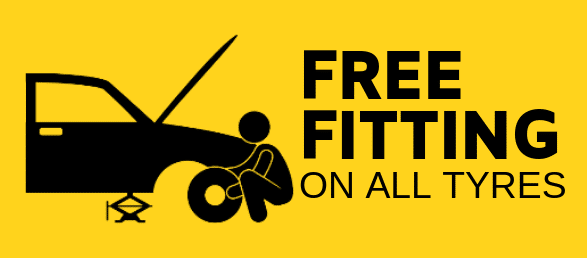 free fitting on all tyres