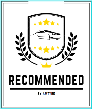 tyre shop recommended badge
